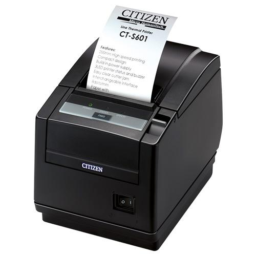 Citizen CT-S601II, BT, 8 Punkte/mm (203dpi), Cutter, weiß