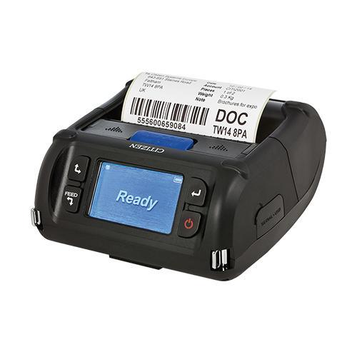 Citizen CMP-40L, USB, RS232, BT (iOS), 8 Punkte/mm (203dpi), Disp., ZPL, CPCL