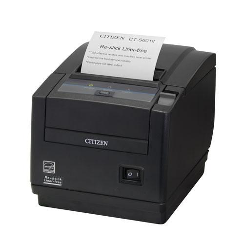 Citizen CT-S601IIR, 8 Punkte/mm (203dpi), Cutter, schwarz