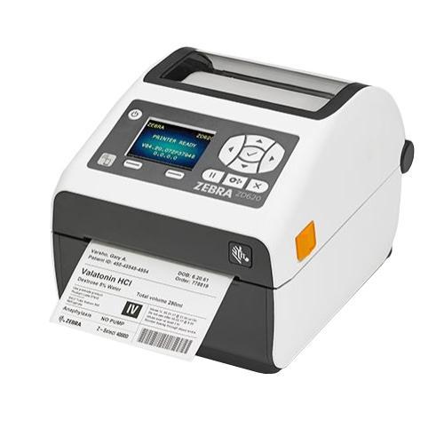 Zebra ZD620d Healthcare, 12 Punkte/mm (300dpi), RTC, Display, EPLII, ZPLII, USB, RS232, Ethernet, we