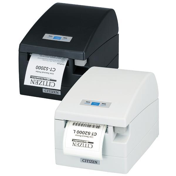 Citizen CT-S2000/L, USB, RS232, 8 Punkte/mm (203dpi), weiß