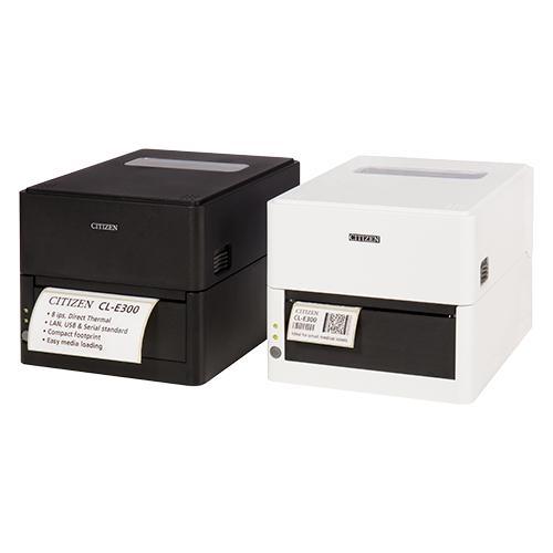 Citizen CL-E300, 8 Punkte/mm (203dpi), USB, RS232, Ethernet, weiß